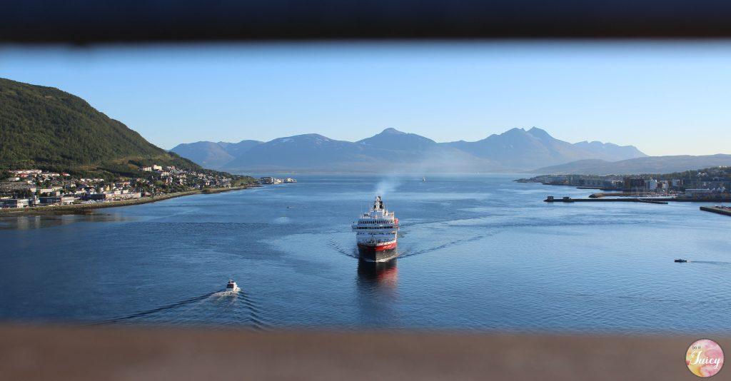 Il Postale in partenza da Tromso