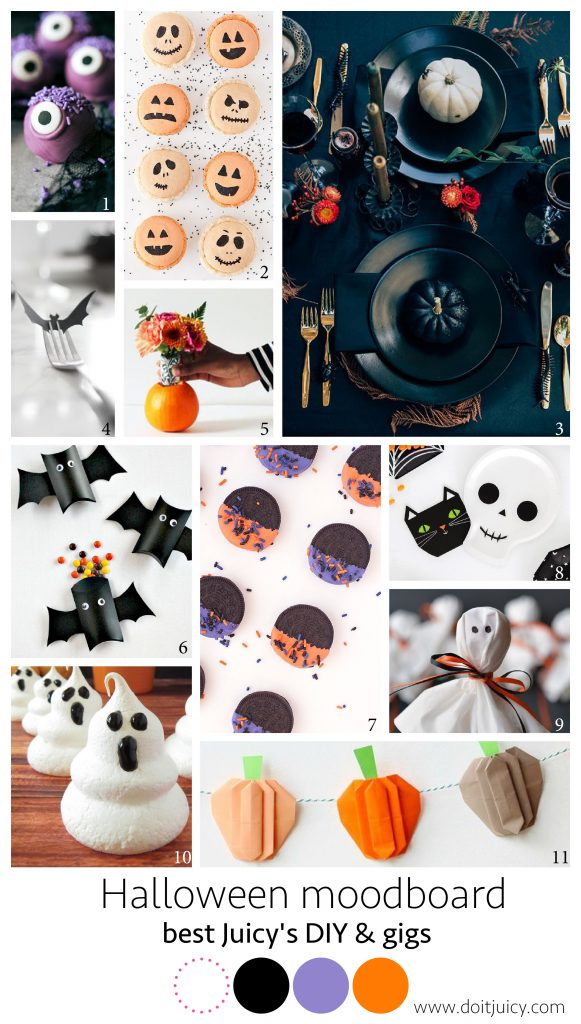Halloween moodboard