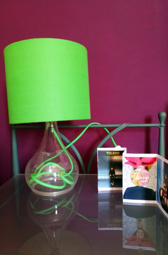 DIY Restyling of a lamp