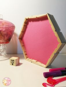 DIY tray wooden