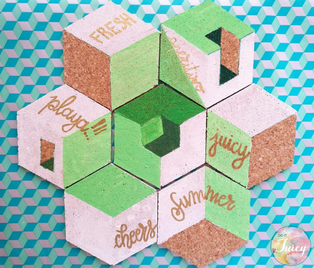 Create your DIY drink coaster from Escher