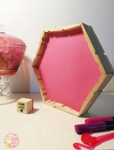 DIY tray wooden