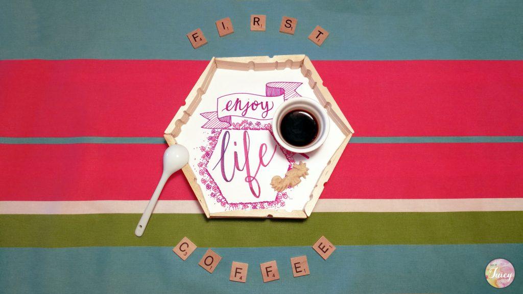 DIY first coffee